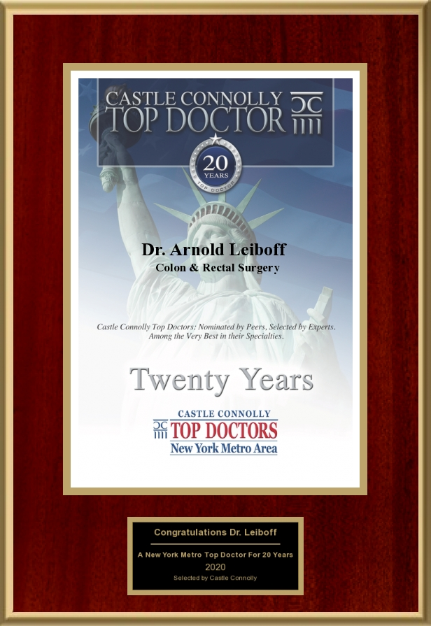 Top Doctor Twenty Years
