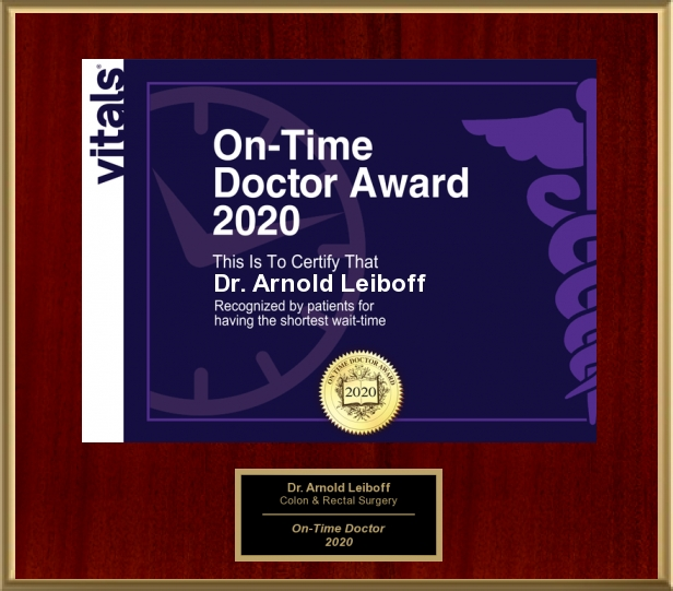 Vitals On-Time Doctor Award 2020